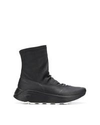Del Carlo Slip On Hi Top Sneakers