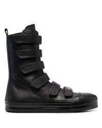 Ann Demeulemeester Touch Strap Mid Calf Boots
