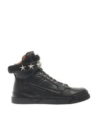 Givenchy Tyson Leather High Top Trainers