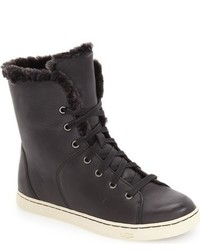 Ugg Croft Luxe Genuine Shearling High Top Sneaker