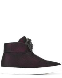 Versace Palazzo Medusa Hi Top Sneakers