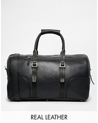 Barneys Leather Holdall