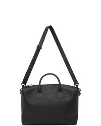 Marsèll Black Leather Duffle Bag