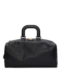 Gucci Black Weekend Backpack Duffle Bag