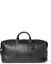 Clipper leather holdall medium 142900