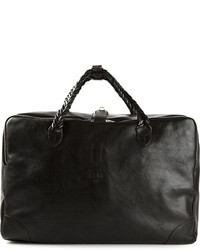 Golden Goose Deluxe Brand Woven Handles Holdall Bag