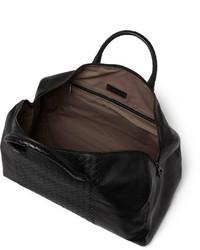 ... Bottega Veneta Intrecciato Panelled Leather Holdall Bag 8b8eebb5a5030