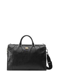 Gucci Medium Interlocking G Leather Carry On Duffle Bag