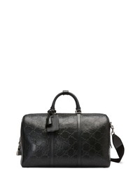 Gucci Tennis Leather Duffle Bag