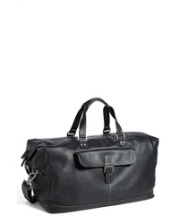 Boconi Tyler Leather Cargo Duffel Bag