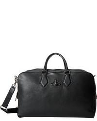 Vivienne Westwood Vivienne Wetwood Leather Weekender Ba Tote Handba