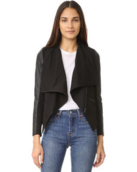 Asymmetrical draped jacket medium 1152240