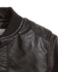 33c8d28ed various styles 00f2f 1f4fa kids black faux leather jacket from hm ...