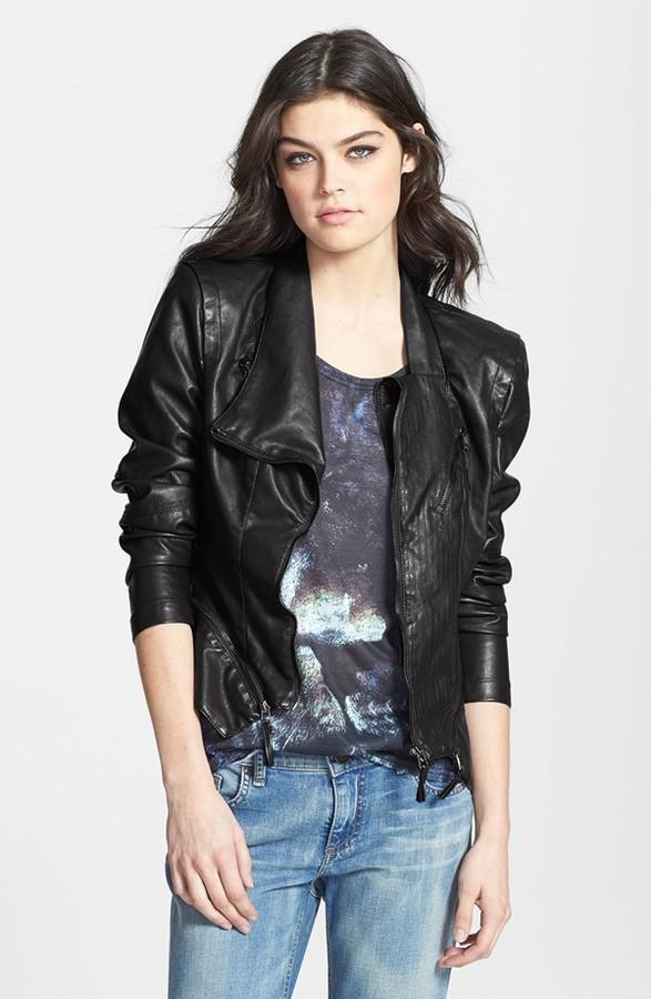 2d02f7df6 Blank NYC Blanknyc Faux Leather Jacket, $98 | Nordstrom | Lookastic.com