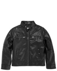 Arizona Faux Leather Moto Jacket Preschool Boys 4 7