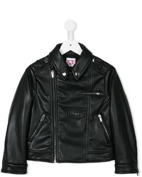 Iceberg Kids Imitation Leather Biker Jacket
