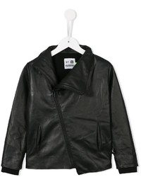 nununu Zipped Leather Jacket