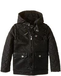 Urban Republic Kids Buffalo Faux Leather Biker Jacket