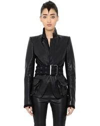 Haider Ackermann Single Breasted Leather Jacket
