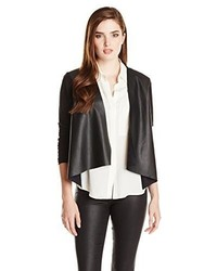 Velvet by Graham & Spencer Ponti With Faux Leather Jacket