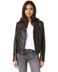 Yoana leather jacket medium 723995
