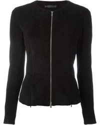 The Row Zip Up Fitted Jacket