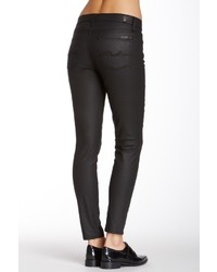 7 For All Mankind Gwenevere Cropped Coated Skinny Jean | Where to ...