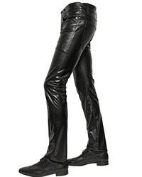Saint Laurent 175cm Stretch Faux Leather Jeans