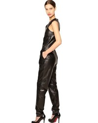 Sleeveless Nappa Leather Jumpsuit | Where to buy & how to wear