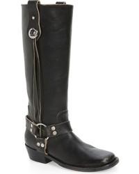 Balenciaga Knee High Riding Boot