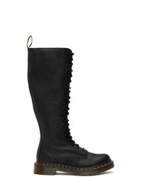 Dr. Martens Black Virginia Knee High Boots