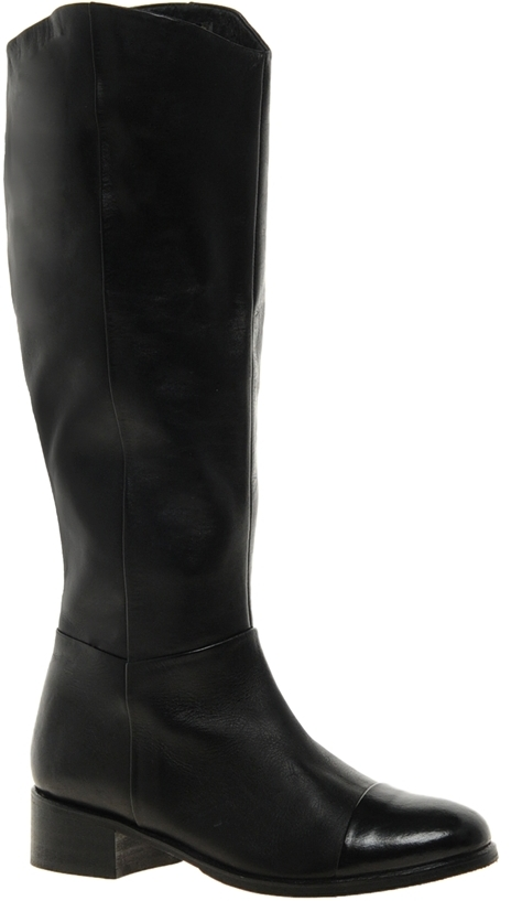 Asos Camden Leather Knee High Boots Black | Where to buy & how to wear