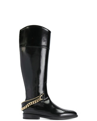 Lanvin Chain Embellished Boots