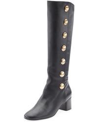 Chloé Chloe Orlando Button Detail Knee Boot