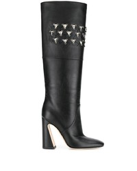 Alberta Ferretti Crystal Embellished Boots