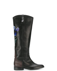 Golden Goose Deluxe Brand Floral Knee Length Boots