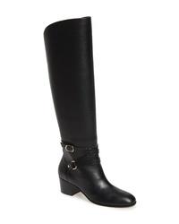 Jimmy Choo Huxlie Block Heel Tall Boot