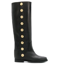 Via Roma 15 Knee High Buttoned Boots