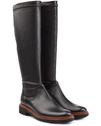 Robert Clergerie Leather Knee Boots