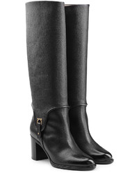 Salvatore Ferragamo Leather Knee Boots