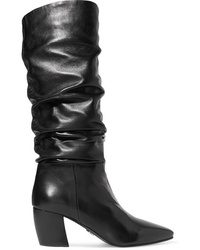 Prada Leather Knee Boots