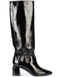Pointed knee boots medium 5252152