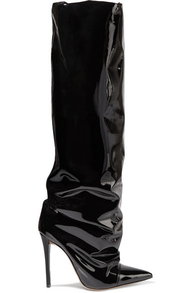 separation shoes various styles classic $758, Alexandre Vauthier Sasha Pvc Knee Boots