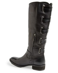 Sole Society Franzie Leather Knee High Boot