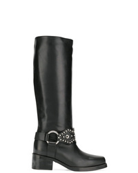 RED Valentino Studded Knee Length Boots