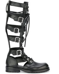 Diesel Black Gold Gladiator Boots