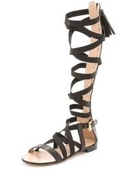 MSGM Gore Knee Sandals