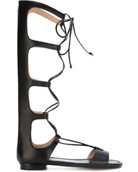 MICHAEL Michael Kors Michl Michl Kors Knee High Strappy Gladiator Sandals