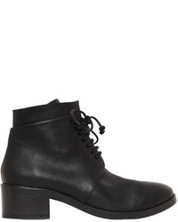 Marsèll 40mm Lace Up Leather Ankle Boots