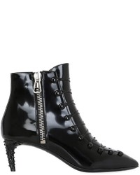 Bally 55mm Mellody Lace Up Leather Ankle Boots